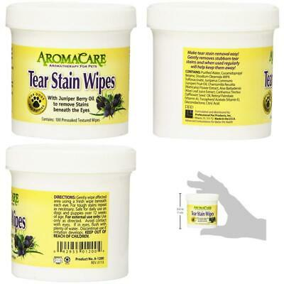 BEST Tear Stain Remover Wipes Convenient And Safe For Daily Use Makes Te UK FAST