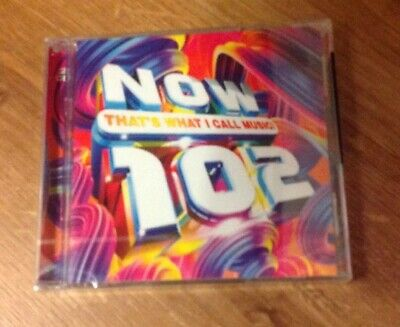 Now That's What I Call Music Now 102 CD Album Brand New & Sealed 2 CD Set