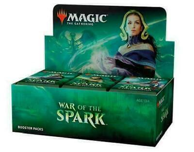 Magic MTG War Of The Spark Factory Sealed Booster Box #4