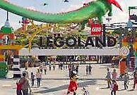 2 X LEGOLAND TICKETS FOR MONDAY 15TH JULY 2019..BUY NOW £12.99p