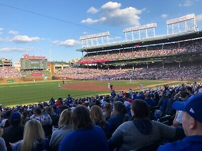 Sec 106 St.louis Cardinals At Chicago Cubs - Sat June 8 At 6:15Pm 1-4 Tickets