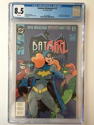 Batman Adventures 12 CGC 8.5 Harley Quinn 1st Appearance HOT! 2nd Movie Coming