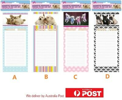 Fridge Magnetic Memo Pad Shopping Board Things To Do List Different Design