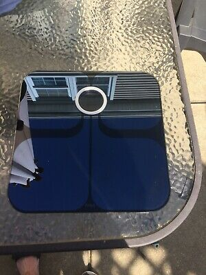 Fitbit Aria 2 Wi-fi Smart Scale Black FB202BK Used, No Box, Tested And WORKING