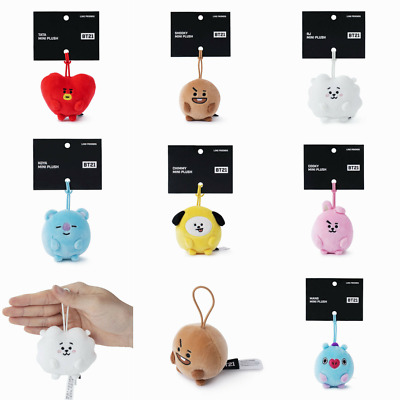 BTS BT21 Official Character Standing Mini Plush Doll KPOP MD Authentic Goods
