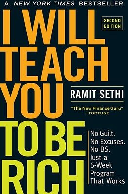 🚛Fast Shipping! {New Release} I Will Teach You To Be Rich 2nd Ed Ramit Sethi
