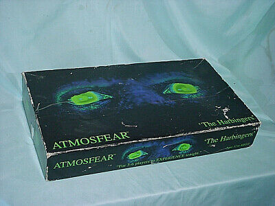 Atmosfear The Harbingers VHS Board Game Mattel 1995 Vintage UN-PLAYED Nightmare