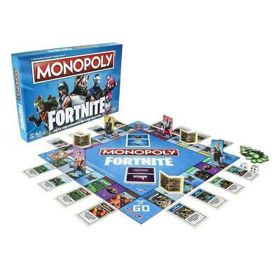 Monopoly Fortnite Video Game Characters Special Edition Board Game 2 - 7 Players