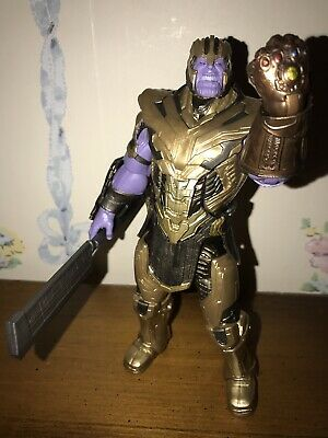 Marvel Legends 6 inch Avengers Endgame Compete Armored Thanos BAF Action Figure