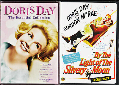 Doris Day bundle (7 Films DVD) Essential Collection + By the Light Silvery Moon