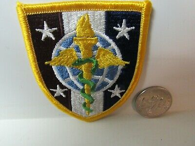 Post WWII US Army Uniformed Services Univ. of Health Science FE, ME SSI Patch
