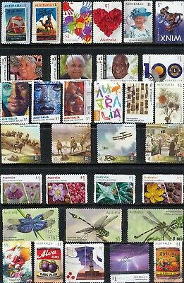 Australian Stamps $1.00 2017/2018 Finely Used - Recent/BulkBulk