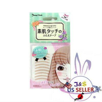 ♪Beauty World Natural Eye Tape Bare skin Touch Change ENT350 (30 Pairs)US Seller
