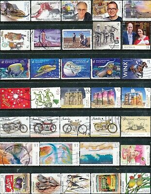 Australian Stamps $1.00 2019/2018 Mixture Recent Used/Bulk