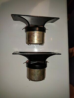 Electro-Voice EV model T-35 8 ohm OEM Horn Tweeters. Matched PAIR Clean!