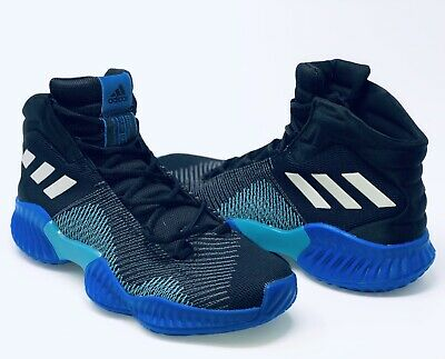 newest 3a081 67a02 New Adidas Pro Bounce Mid 2018 Mens Black Grey Purple Green Shoes Size 11  AH2657
