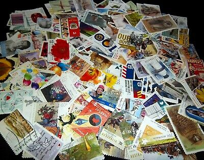 Australian Stamps $1.00,70c,60c 160 Different (No Def/Xmas) Used/Bulk