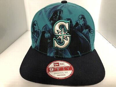 a21661d6 SEATTLE MARINERS M New Era 9FIFTY MLB Snapback Hat Cap Cooperstown ...