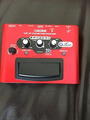 Boss VE-2 Vocal Harmonist effect
