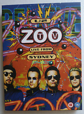 U2 ZOO TV LIVE FROM SYDNEY 2 DVD Live DIGIPACK Limited Edition