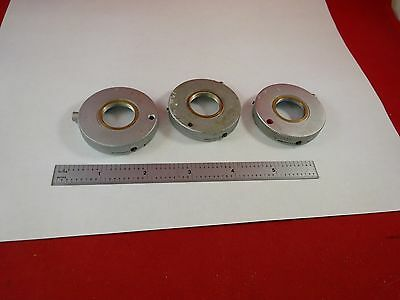 Microscope Part Leitz / Zeiss Phaco Objective Holder Optics As Is Bin#C9-A-15