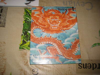 Bonhams Catalogue Nov11 Fine Chinese Art Ceramics Jades Carvings +++