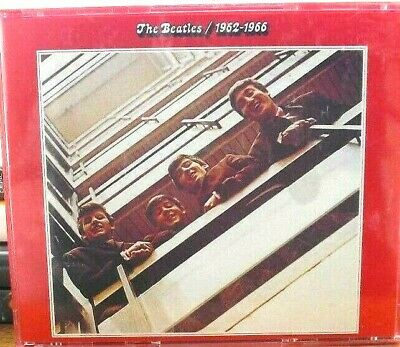 The Beatles - 1962 To 1966  2 X Cd Album Fatbox Red 1993
