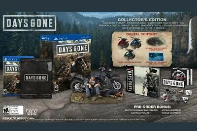 Days Gone Collector's Edition (Playstation 4, 2019) PS4 Region Free New PreSale