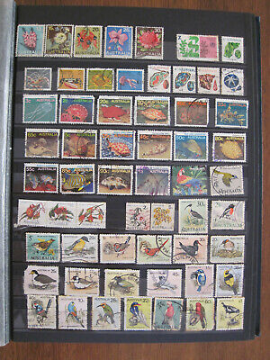 Australia Decimal collection of used stamps