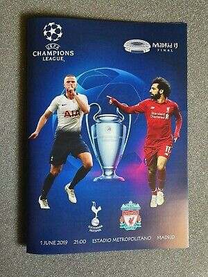 CHAMPIONS LEAGUE FINAL 2019  ~ TOTTENHAM v LIVERPOOL ~ 01/06/2019  ~ UNOFFICIAL