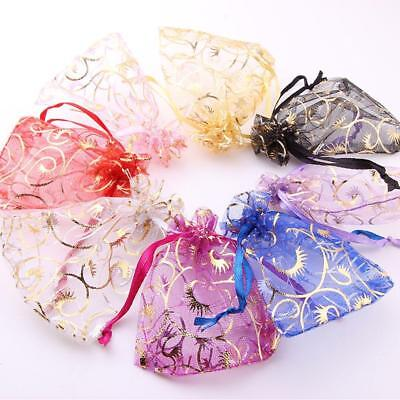 Organza Bag Sheer Bags For Jewellery Wedding Sugar Candy Packaging Gift 2019