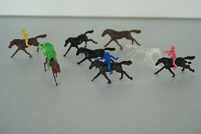 Vintage Cereal T0Ys Small Cocboys & Indians Horses