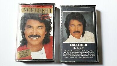 ENGELBERT HUMPERDINCK  Lot 2  CASSETTES K7 AUDIO   In Love + Remember I love you