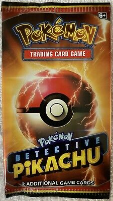Pokemon Detective Pikachu Cinema Promo Booster Pack (Limited Quantities Printed)