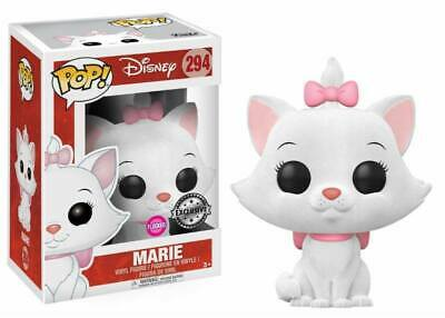 Aristocats Flocked Marie Cat Katze POP! Disney #294 Vinyl Figur Funko