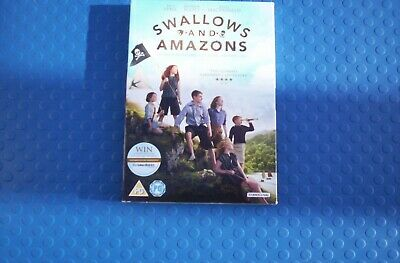Swallows And Amazons [DVD] [2016]  Very Good UK Region 2