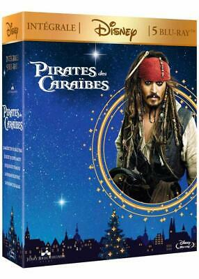 Coffret collector 5 films blu ray Pirates des Caraïbes édition Disney neuf
