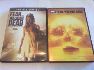 Fear The Walking Dead: Season 1 Special Edition And Season 2 Used DVD