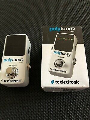 TC Electronic PolyTune Mini 2 Electric Guitar Tuning Pedal