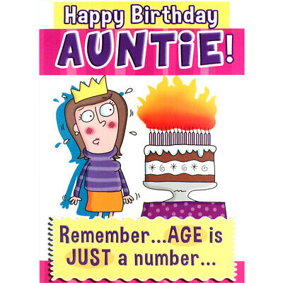 Naughty Humour 30th 40th 50th Funny Rude Birthday Card Sister Friend
