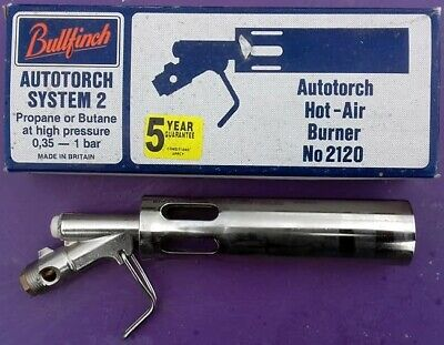 Bullfinch 2120 Autotorch Hot Air Torch Burner new boxed. Fits 2100 handle.