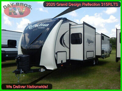 20 Grand Design Reflection 315RLTS Travel Trailer Towable Camper RV Rear Living