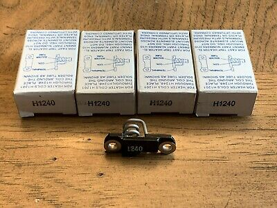 Lot Of 4 New! Eaton / Cutler-Hammer Overload Relay Thermal Heater Elements H1240