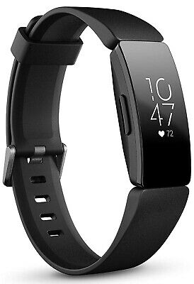 Fitbit Inspire HR Heart Rate & Fitness Tracker - One Size (S & L Bands Included)