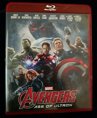 Avengers: Age of Ultron (Blu-ray Disc, 2015) Marvel