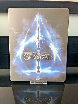 Fantastic Beasts The Crimes Of Grindelwald Steelbook NO DISCS Steelbook only