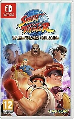 Street Fighter 30th Anniversary Collection (Nintendo Switch) NEVER USED!!