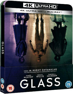 📽️ Glass - 4K Ultra HD UHD & Blu-ray Limited Edition SteelBook McAvoy/Willis 🆕