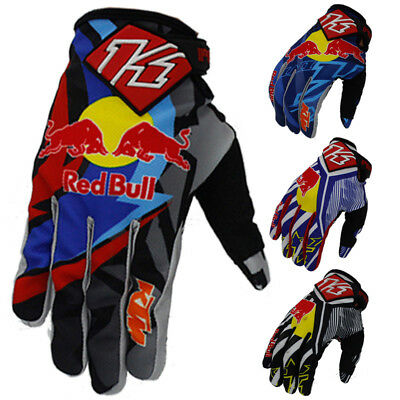 Kini Red Bull motocross gloves