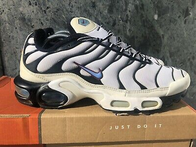 6955290bd 10.5 NIKE AIR MAX PLUS TN White/Black/Dusty Cactus Shoes 852630-106 ...